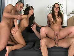 Hot babes with twice wet pussies for a fuck