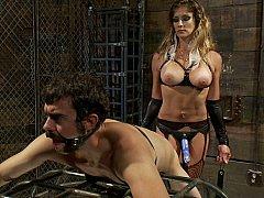 Cul, Bondage, Domination, Femelle, Femme dominatrice, Maîtresse, Esclave, Strapon