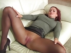 Stocking fetish, babes in stockings and pussy in stockings
