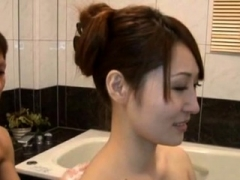 Hot cutie plays sensually with lover and has astounding sex