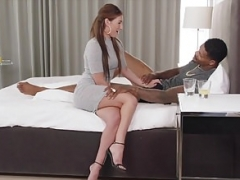 Verga grande, Interracial, Enfermera