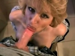 House wife likes to swallow