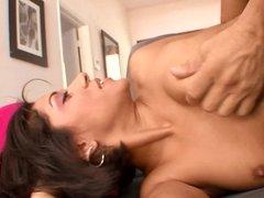 Nice ass and perky titties on fuck slut Vanessa Leon