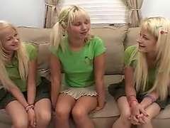 Milton Twins & Ashley Fires - Lesbian Strap On Screw