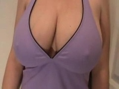 Lateshay compilation saggy 36 G melons strip tease