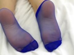 Jennifer Feets - nylon feet