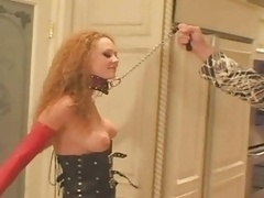 Audrey Hollander sex in latex