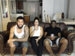 Large Titty Mom i`d like to fuck in Interracial Threesome