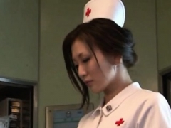 Nurse in heats roughly drilled & made to drink sperm