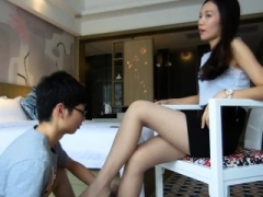 Hot female domination chicks foot fetish