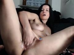 Anal, Brunette brune, Masturbation, Mère que j'aimerais baiser, Solo, Jouets, Webcam