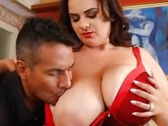 Sexy Big-breasted Big beautiful women Mom Kimberleigh Fucks Hubbys Friend