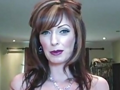 Excited Housewife ShandaFay Gives Hubby A Hot Creamy Facial!