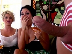 Big titted wench gets it hard