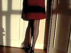Black & Red Corset