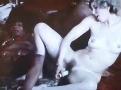 German Interracial Real hardcore orgy 70s