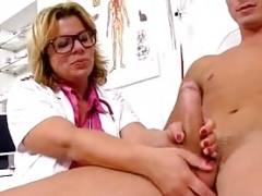 Silvy Vee a large tits MILF doctor hospital sex