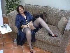 Suzie Grown-up Individual in Stockings