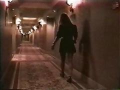 Bitch fucking in hotel hallway