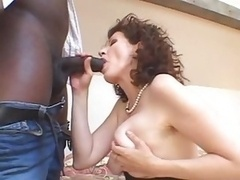 Hairly White Mature and plus BBC