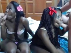 2 sister make love