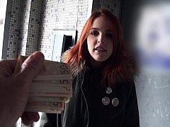 フェラチオ, ヨーロピアン, お金, ハメ撮り, オマンコ, スペイン人, フェラする
