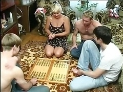 Old Wife Group-fucked
