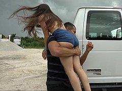 Quick, get in the van!