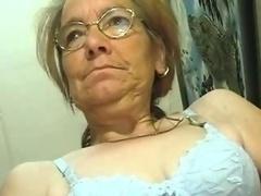 Scrawny Aged Granny does like a Fuck tool