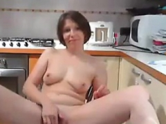 Kitten masturbation and additionally playing with a dildo webcam