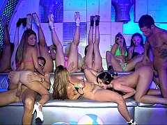 Club, Grupo, Orgía, Fiesta