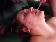 Spermaladung, Kehlenfick
