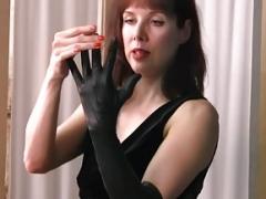 Handschuhe, Latex, Leder, Nylon