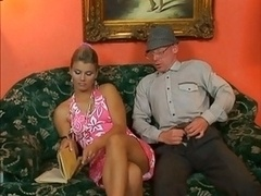 Old Dude Hot Blonde