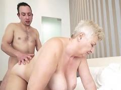 Old grannies, mature moms and sperm-starved old sluts