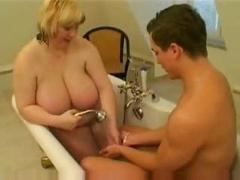 Adult bbw bathroom sex