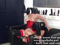 Kinky Lesbians In Latex