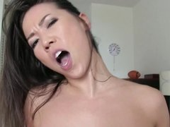 Sex with Kalina Ryu is a passionate experience