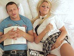 Блондинки, Минет, Смазливые, Член, Секс без цензуры, Сосущие, Молоденькие, Униформа