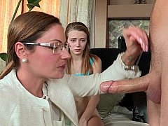 Stepmom joins young couple