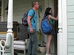 Amerikanisch, Studentin, Paar, Frau, Hausfrau, Reif, Jungendliche (18+), Flotter dreier