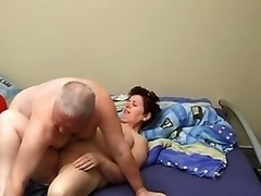 Granny And also Grandpa Making Out