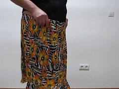 Corset, new panties and skirt