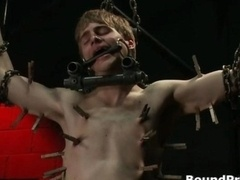 Noah gets strung up and also tortured gay