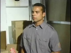 Gay daddy gives a rimjob to his BF and drills his ass from behind