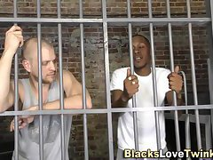 White inmate analized