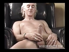 Mature Man Dale Jacks Off