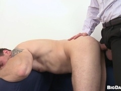 Georgio Black drills some dude's gay ass after enjoying a blowjob