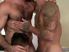 Threesome with the Santoro brothers