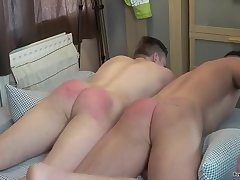 Red delicious men Belted Bums